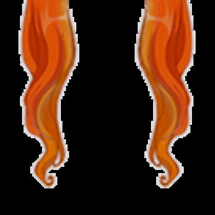 Orange Hair Extensions.