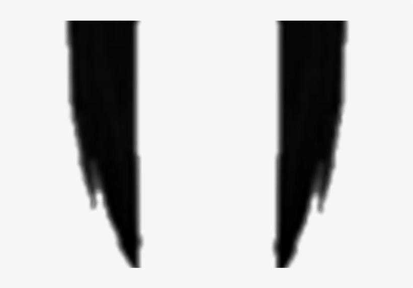 Black Hair Extensions Transparent Roblox.