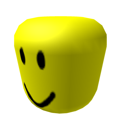 BIG Yellow Head (WITH FACE).