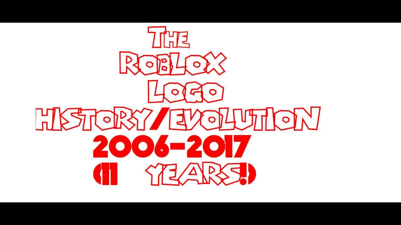 Roblox Logo Evolution/History 2006.