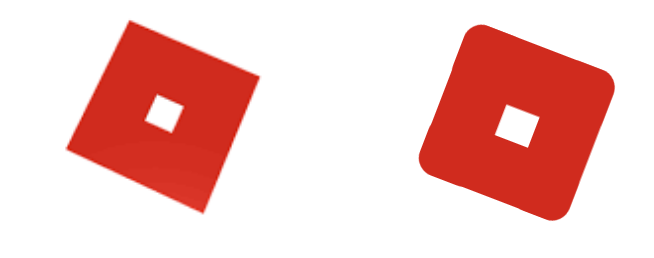 roblox logo but i changed it a little : roblox.