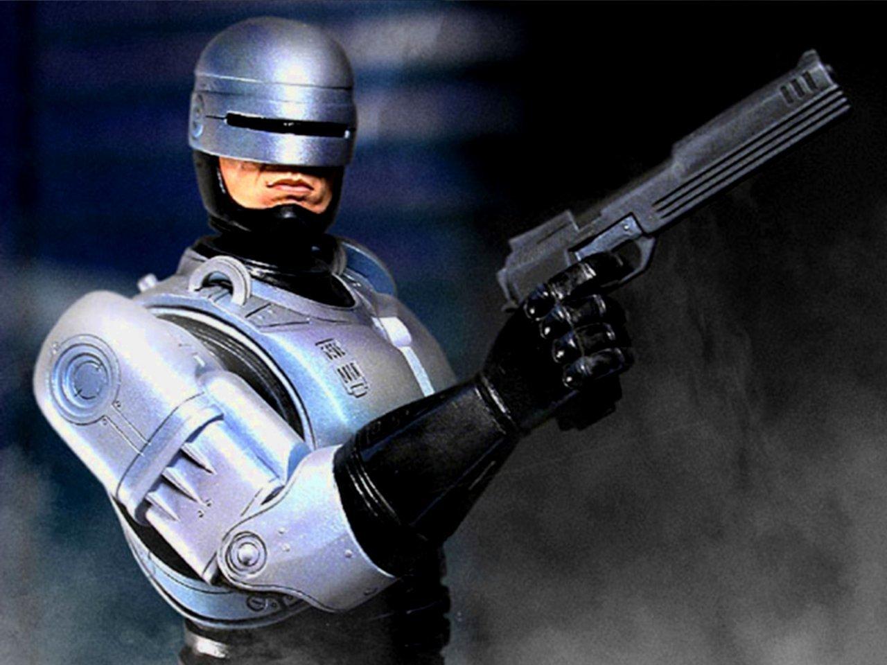 Robocop 1987 clipart.