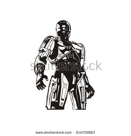 Robocop Stock Images, Royalty.