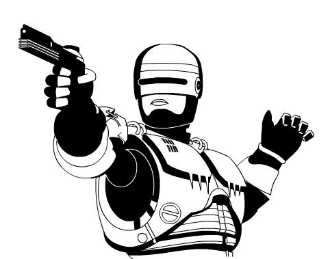 Robocop Vector by mc.