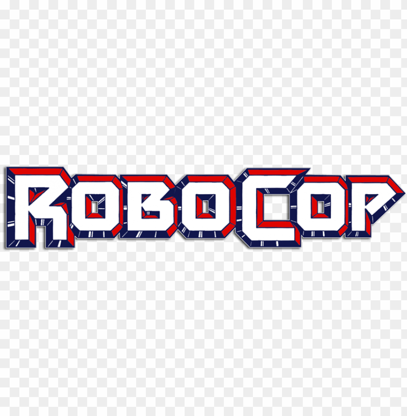 robocop logo PNG image with transparent background.