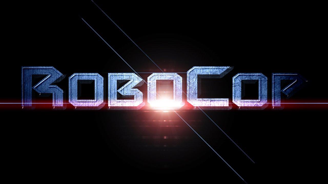 Photoshop Tutorial: How to Create the Powerful, Retro, Movie Logo of RoboCop.