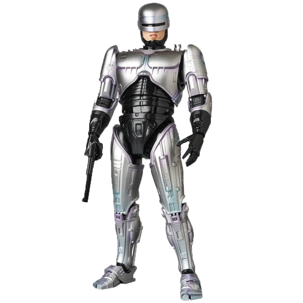 Robocop PNG Photo Background.