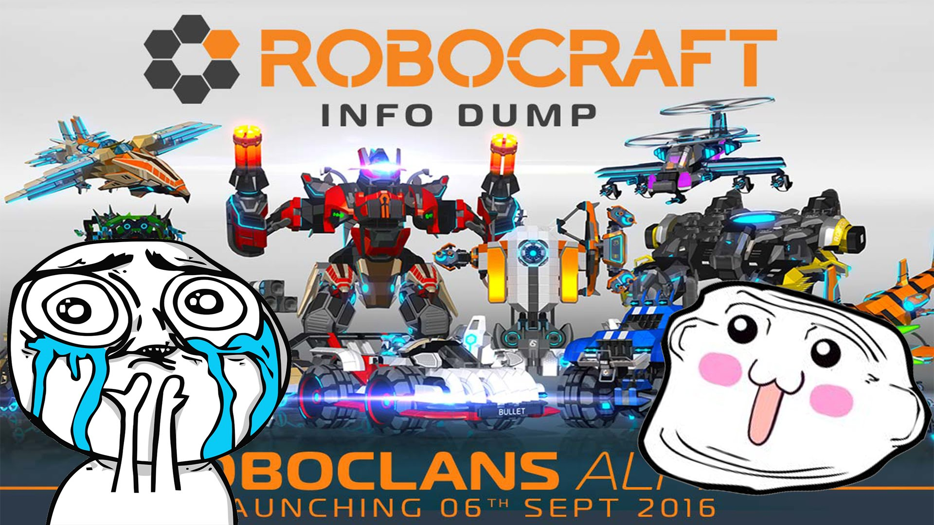 ✔【Robocraft】ROBOCLANS UPDATE 【MY CLAN IS OUT】GAMEPLAY.