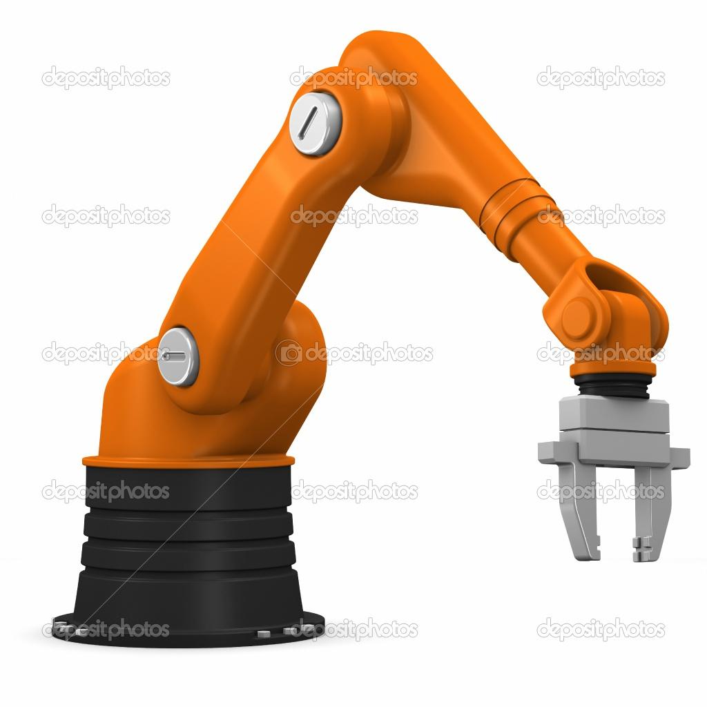 Industrial Robot Clipart.