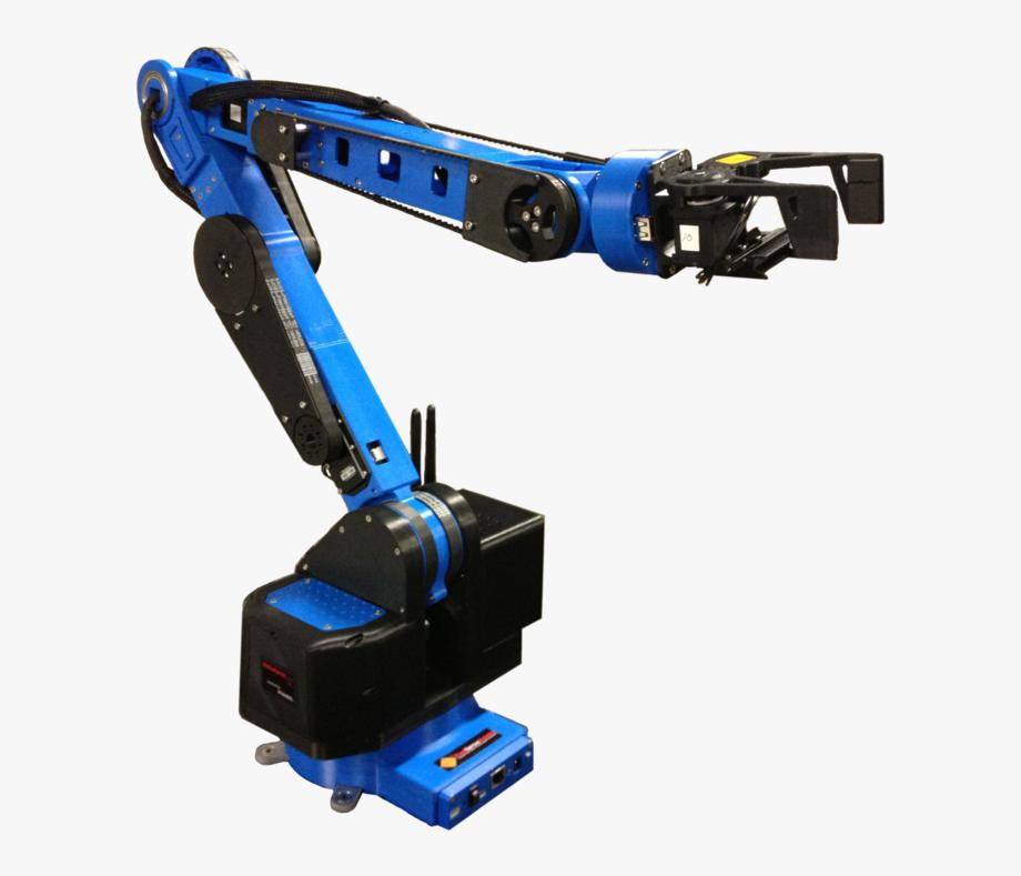 Transparent Arms Robot.