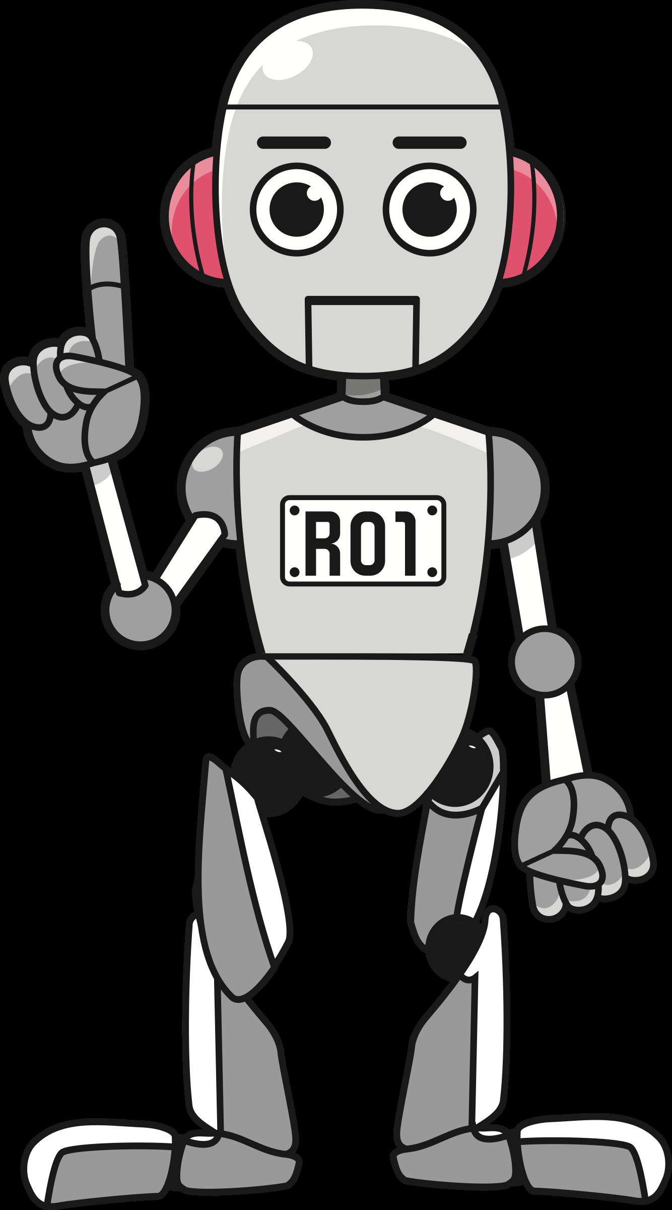 Robot clipart robot body, Robot robot body Transparent FREE.