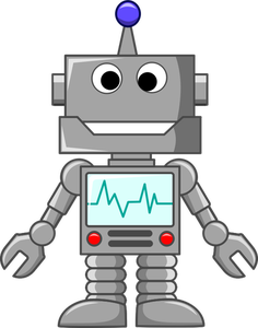 170 robot clipart free.