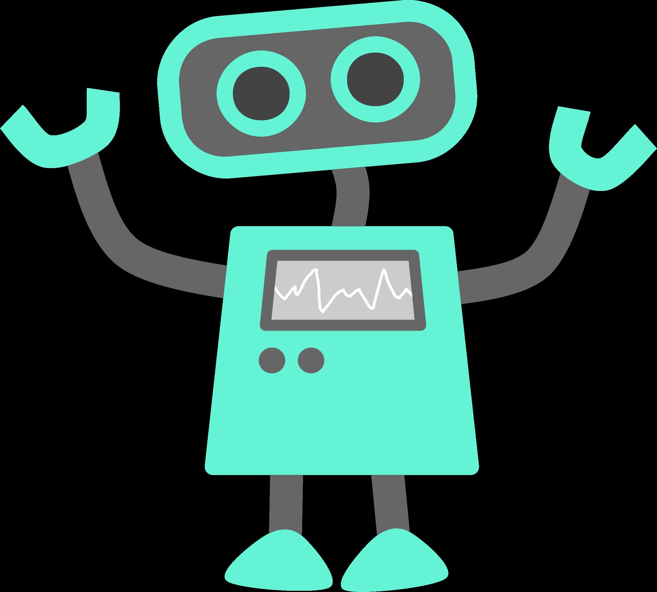 Robot clipart microsoft.