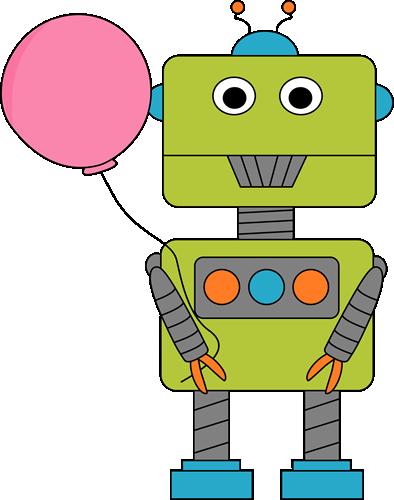 Famous Robots Clipart.