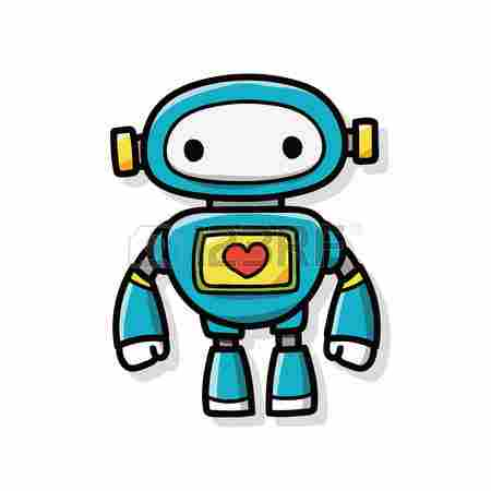 Perfect Cliparts: Robot And Clipart.
