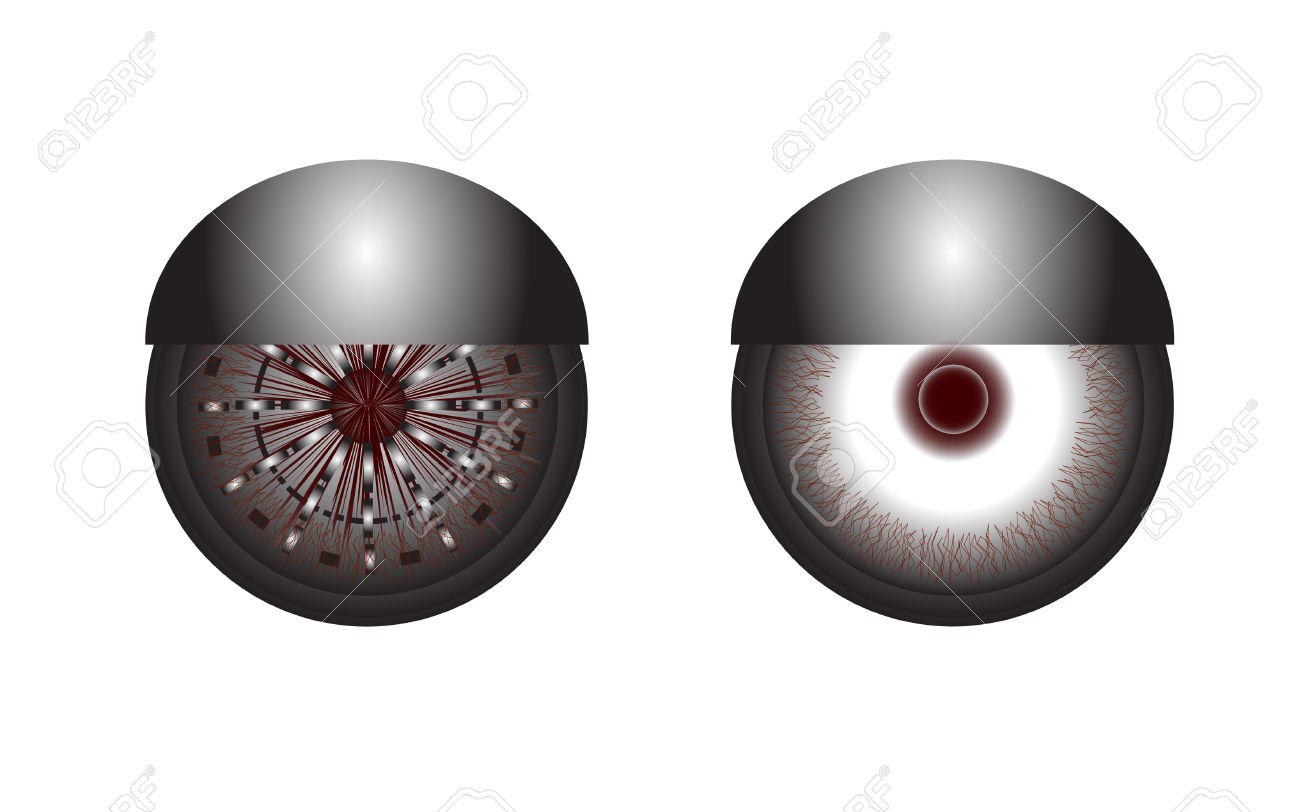 Robot Eyes Royalty Free Cliparts, Vectors, And Stock Illustration.