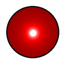 Robot eye clipart.