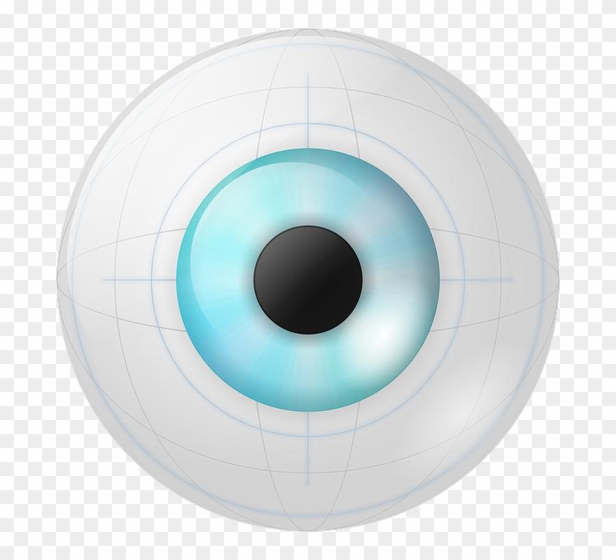 Eyeball Clipart Robot.
