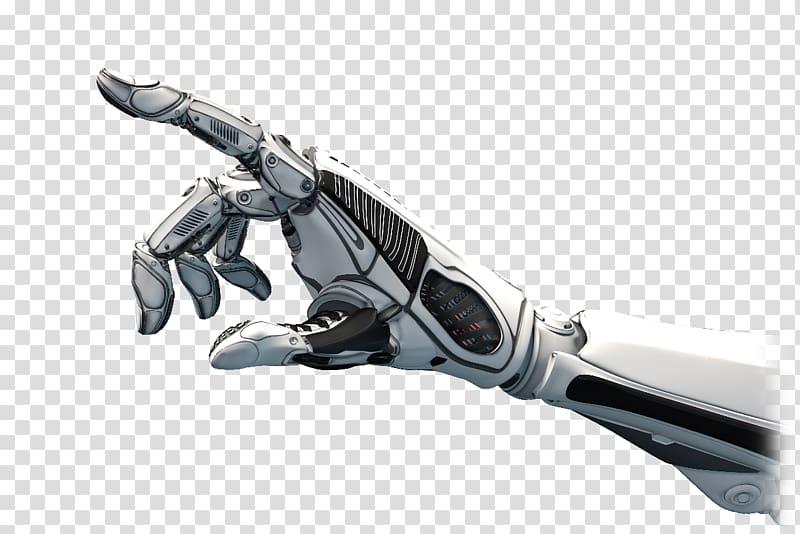 Right robot hand, Robotic arm Robotics Humanoid robot.