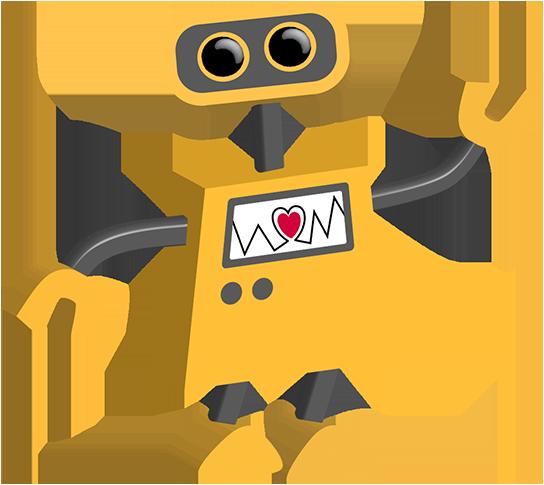 Robot Heart Clipart.