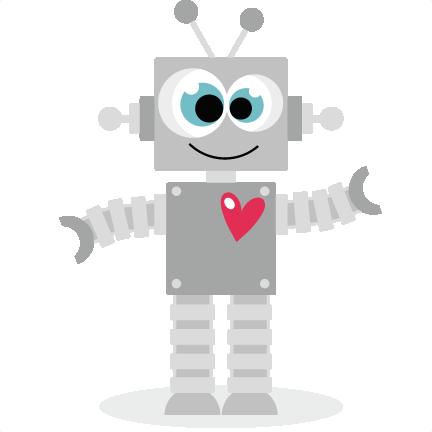 Love Robot Clipart.