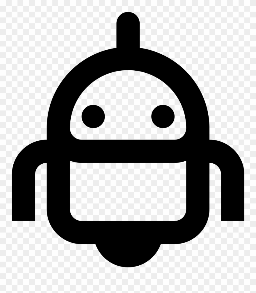 Small Robot Icon.