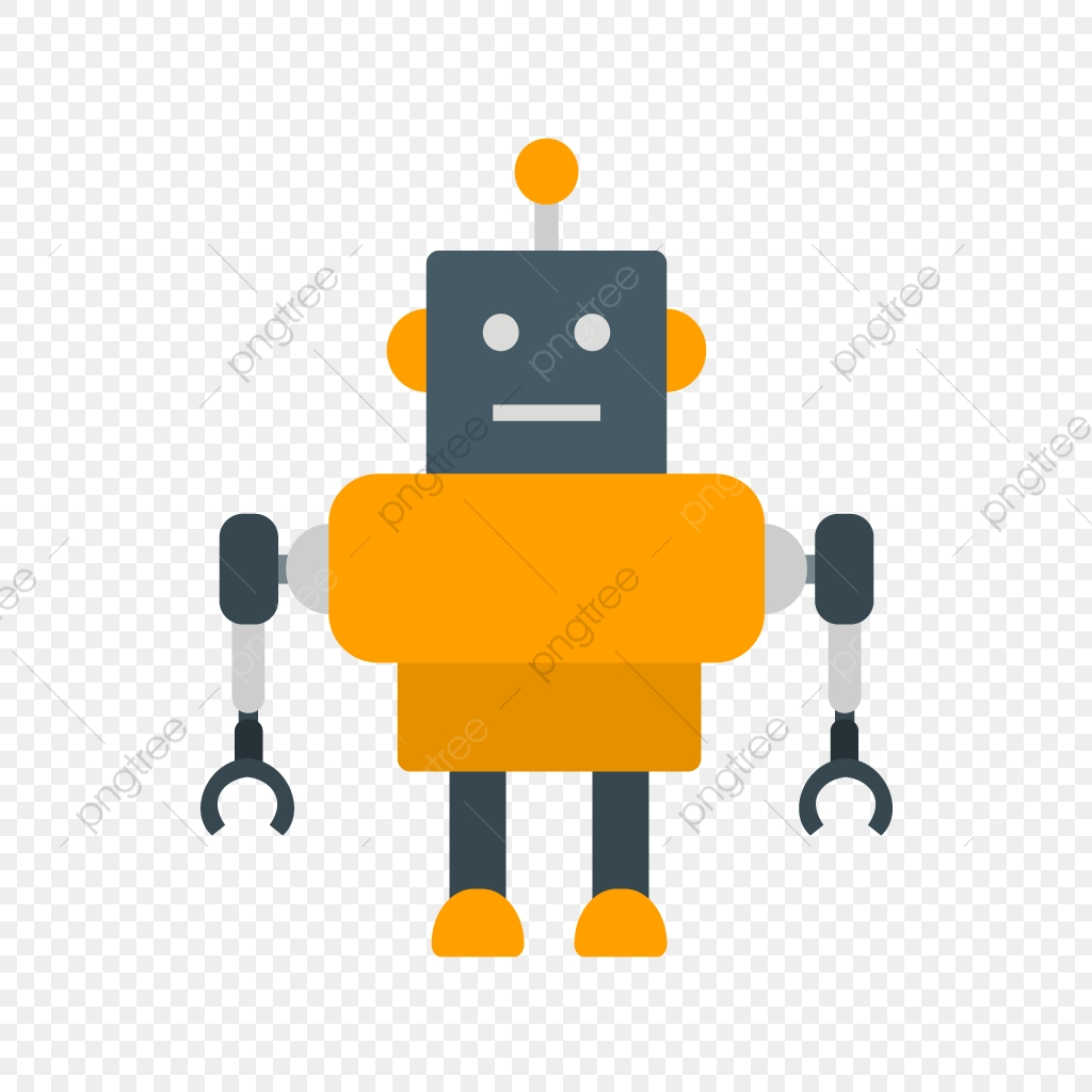 Robot Vector Icon, Android Icon, Machine Icon, Robot Icon.