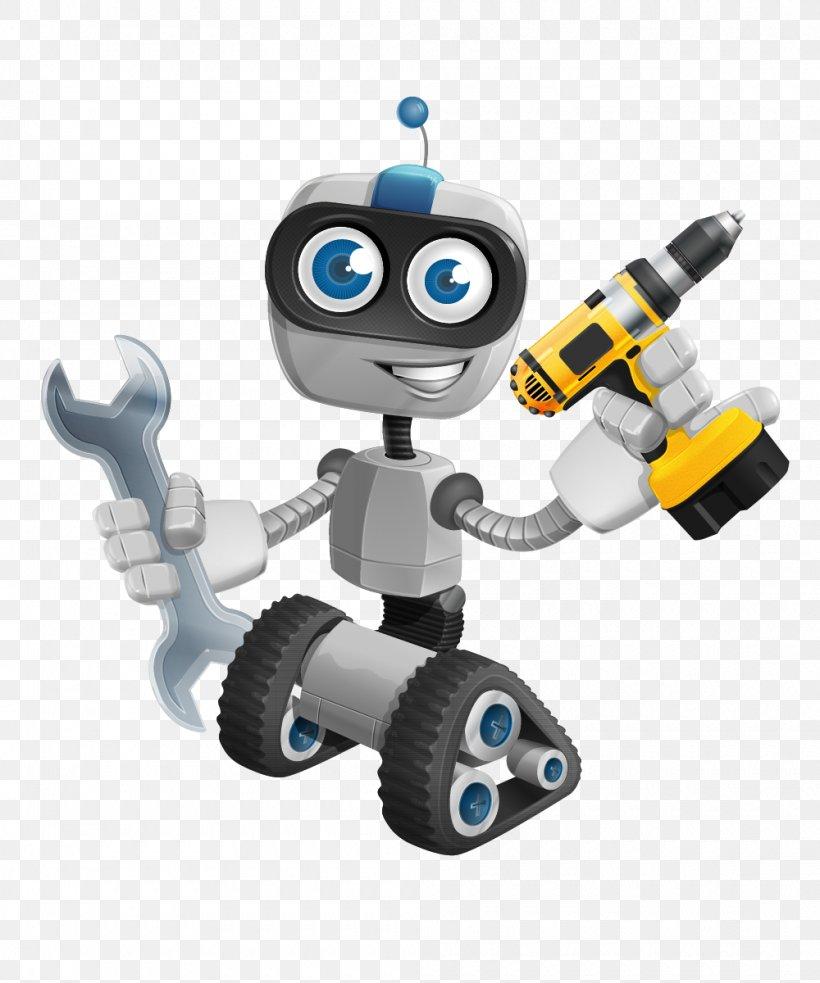 Robotics Cartoon Robotic Arm Clip Art, PNG, 1000x1200px.