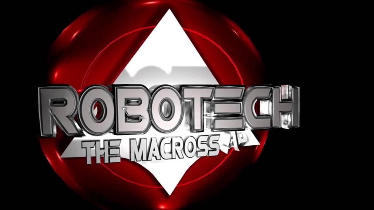 Robotech logo test.