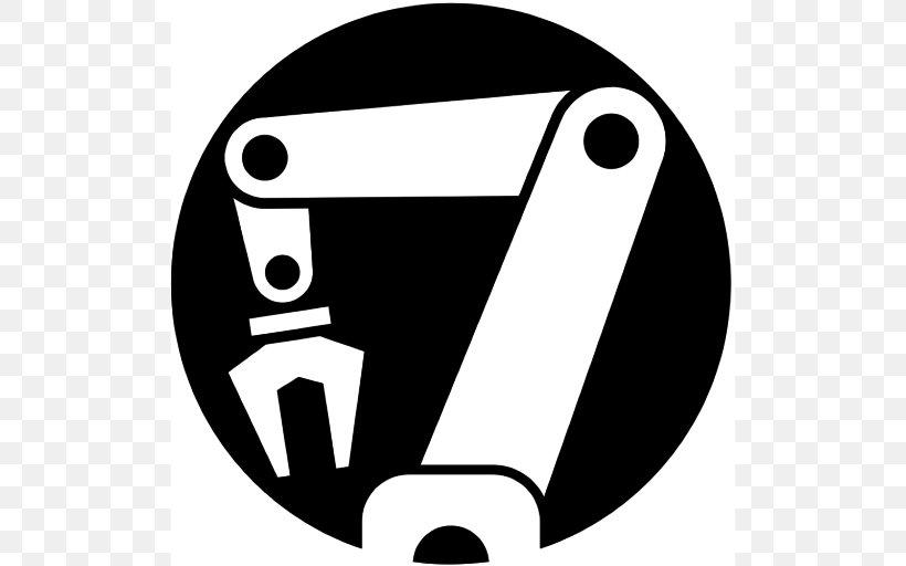 Robotic Arm Robotics Clip Art, PNG, 512x512px, Robotic Arm.