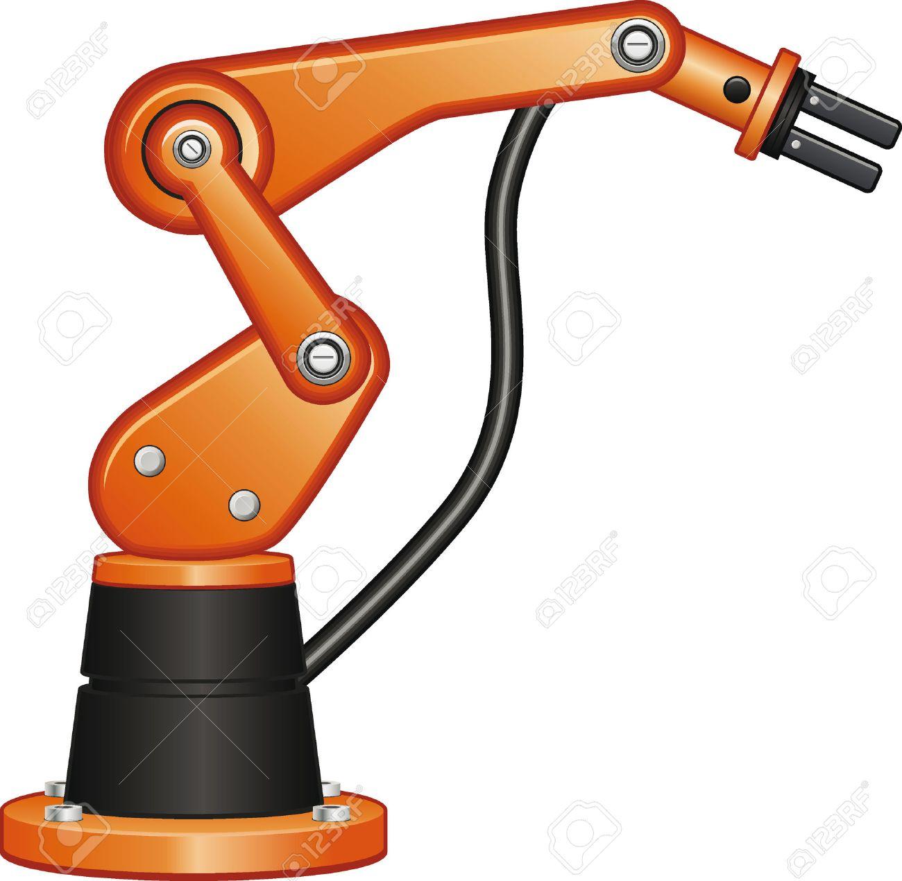 Robot arm clipart 1 » Clipart Station.