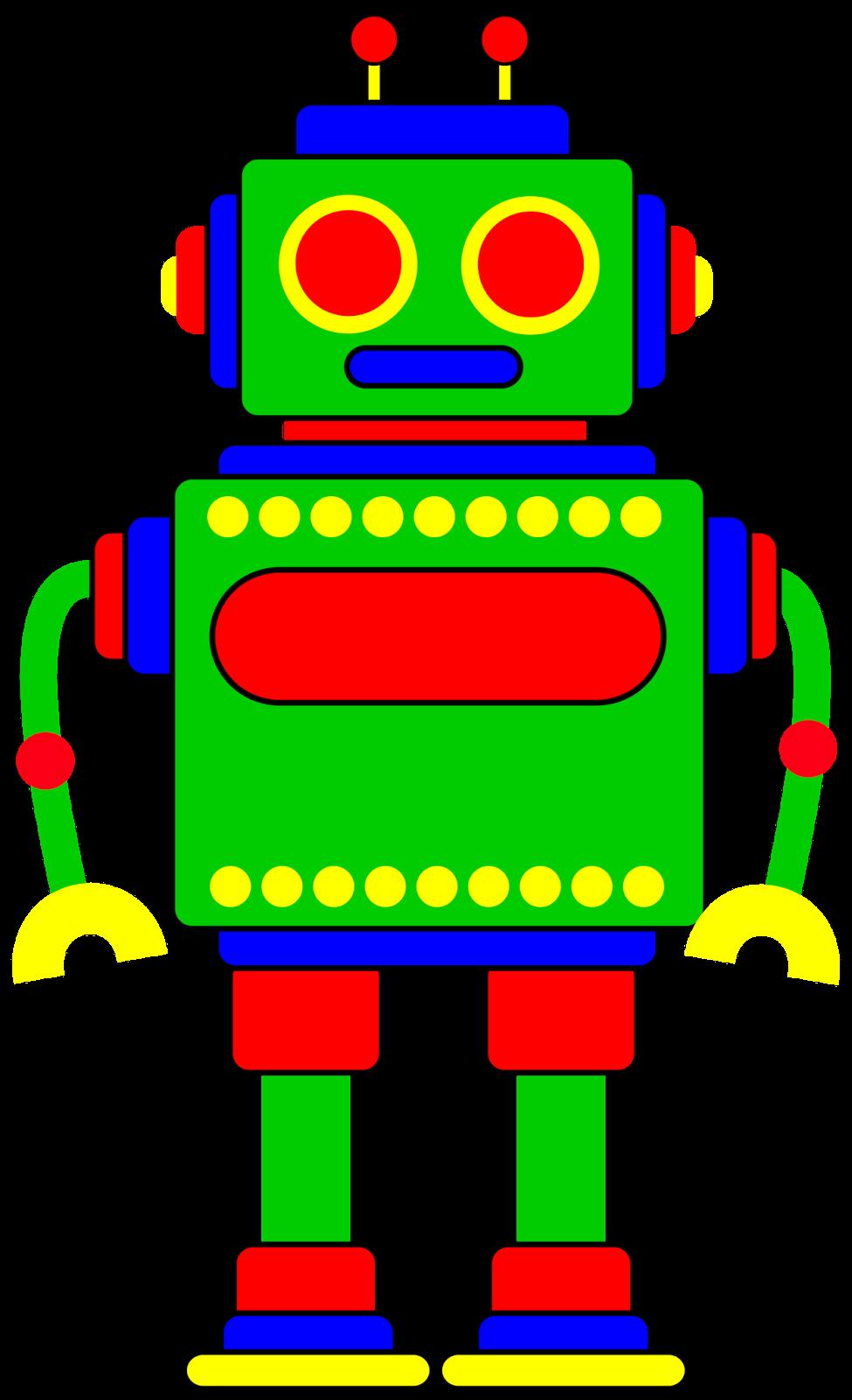 Robotic Clip Art Images.