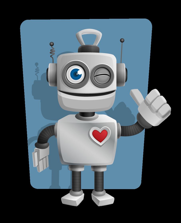 Free to Use & Public Domain Robot Clip Art.