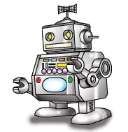 Robotics clip art.