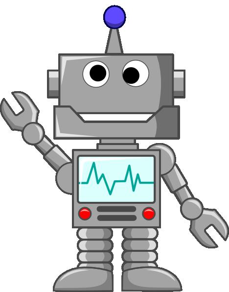 Robot pictures clip art.