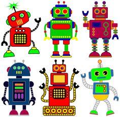 Robotics clipart free.