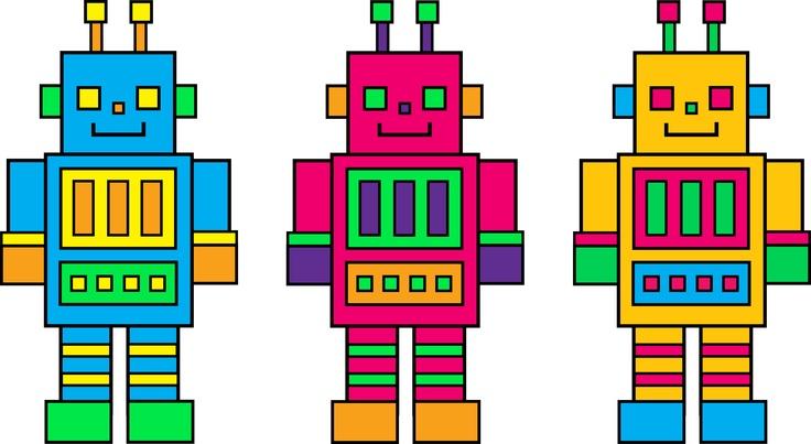 Robotics Clipart #175.