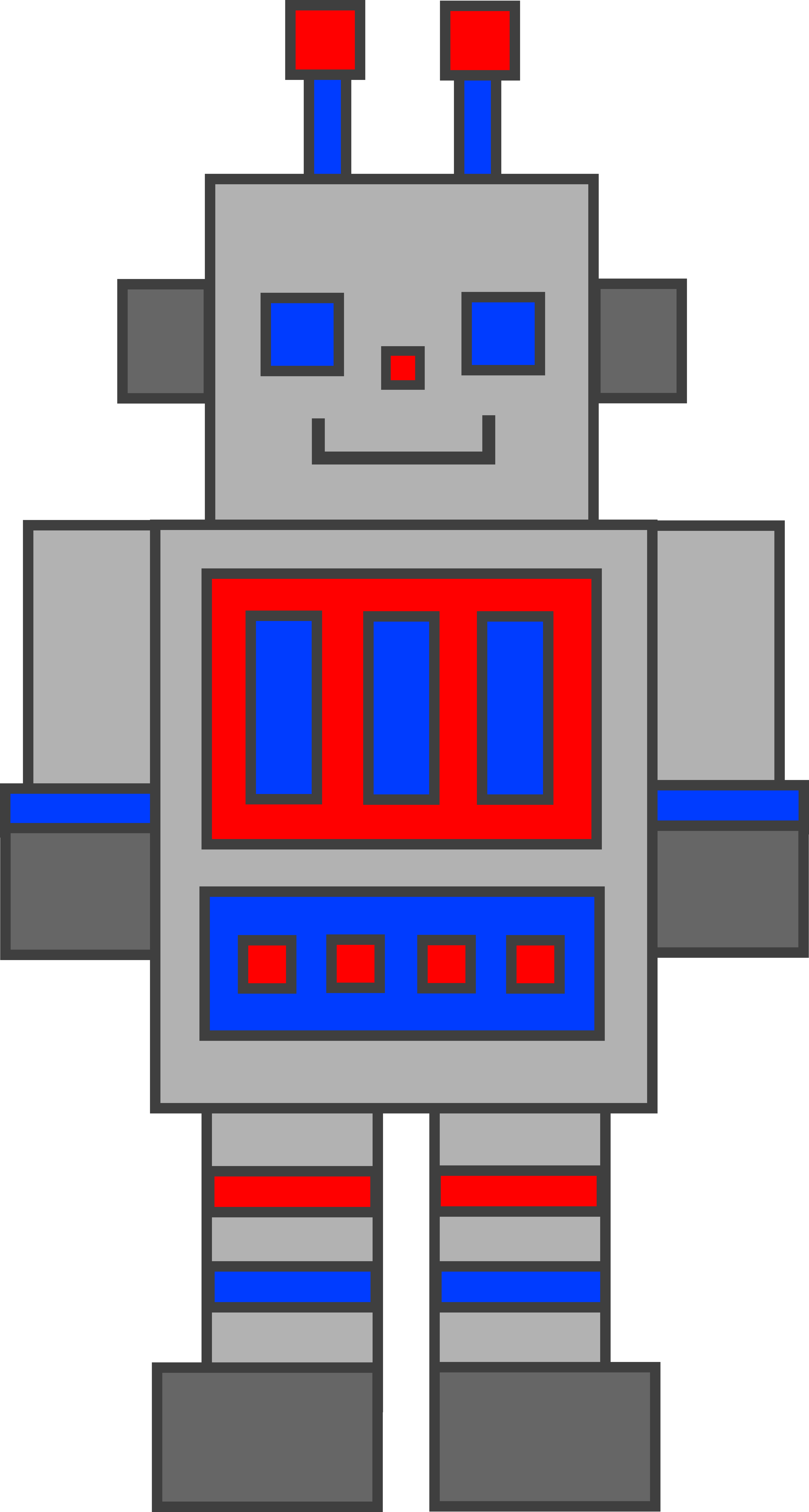 Clip art robot.