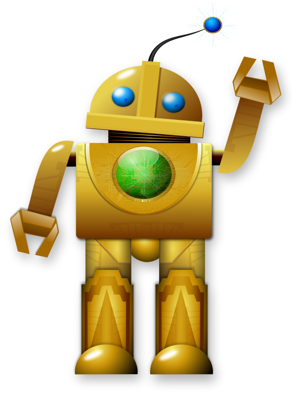 Robots Clipart Free.
