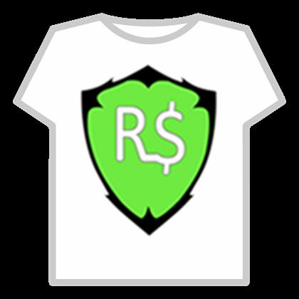 The robux logo.