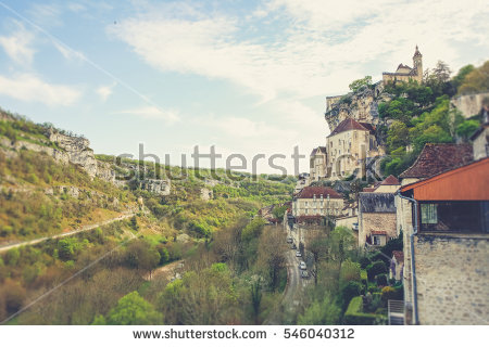 Rocamadour Stock Photos, Royalty.
