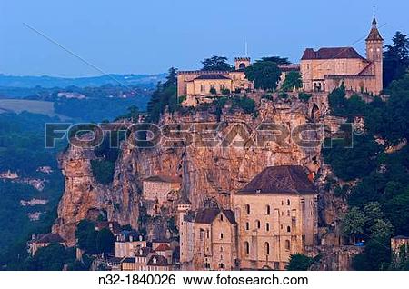 Stock Images of Rocamadour, Midi.