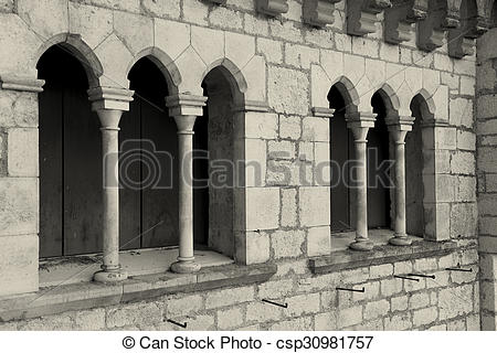 Stock Images of Architecture of Rocamadour, Lot, Midi.