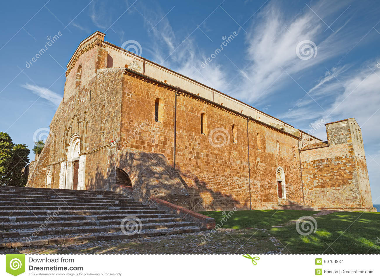 The Abbey Of San Giovanni In Venere In Fossacesia, Abruzzo, Ital.