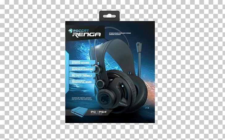 ROCCAT Renga Headphones Audio Gamer, headphones PNG clipart.