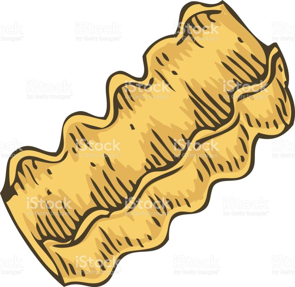 Italian Pasta Rocchetti stock vector art 641586810.
