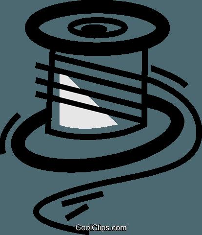 Rocchetti di filo immagini grafiche vettoriali clipart.