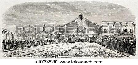 Stock Illustrations of La Rochelle railway station k10792980.