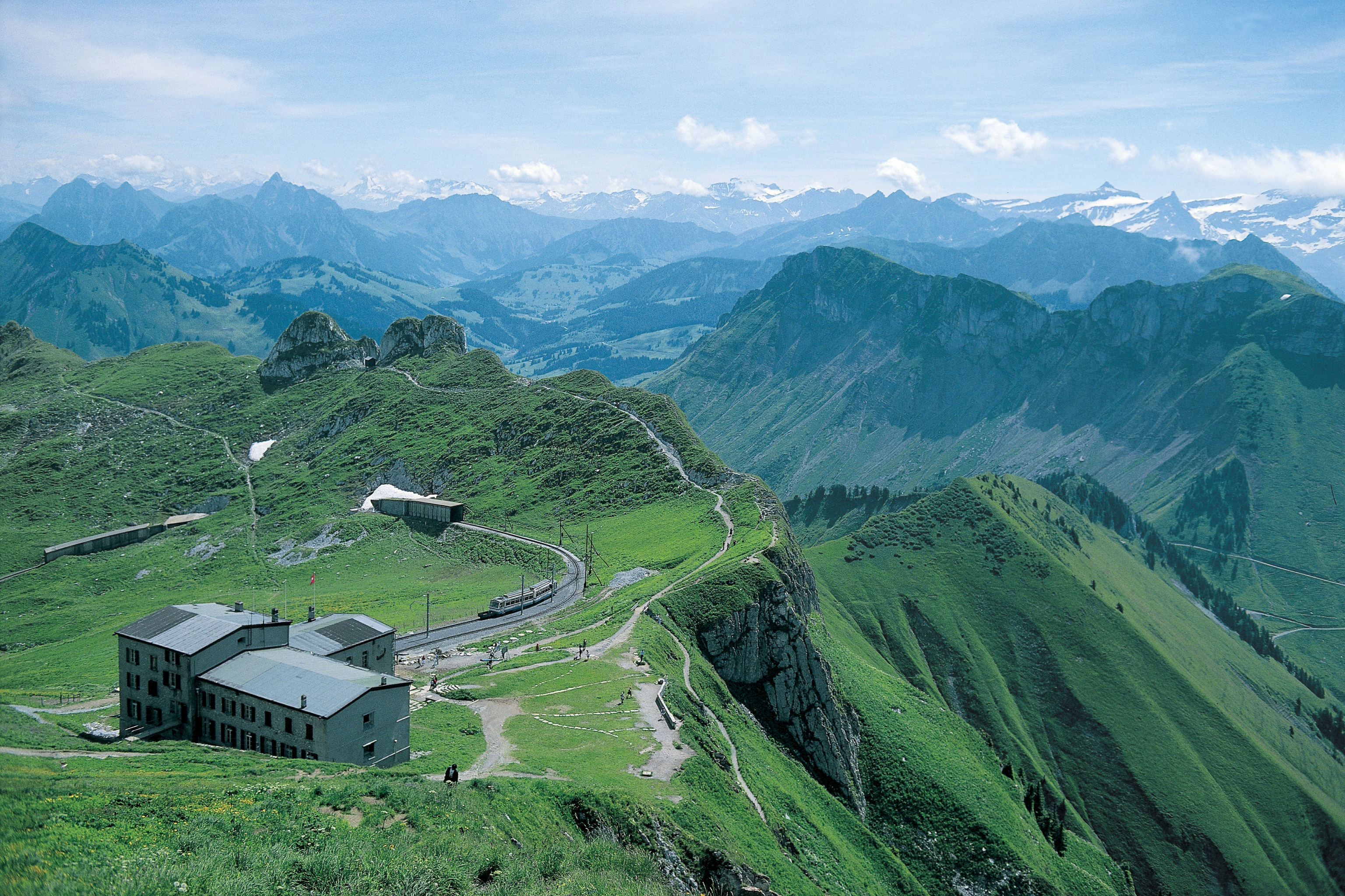 Rochers de Naye Rail Passes and Tickets for Switzerland.