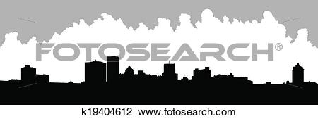 Clipart of Rochester, New York k19404612.